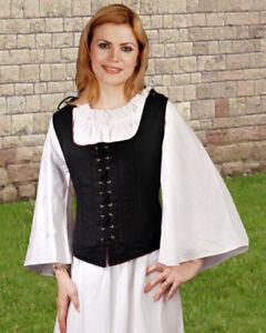 Renaissance Wench Pirate Medieval Women Costume Bodice ToBeAPirate.com