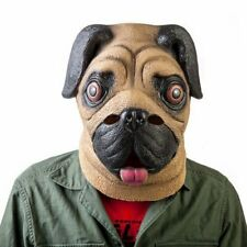Madheadz Party Mask - Pug Pet Lover Cute Small Breed of Dog Adorable Animal