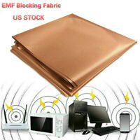 EMF RFID RF Shielding Copper Fabric Roll-Blocking RFID Radiation Singal Wifi EMI