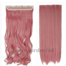 "120-200g 17-30"" Long Clip in Full Head hair Extensions as remy human hair hn76"
