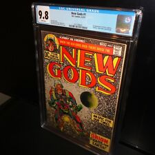 New Gods #1 CGC 9.8 White Pages 1971 Jack Kirby DC Comics, 1st Appearances