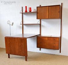 teak vintage retro bookcases shelving storage furniture for sale rh ebay co uk