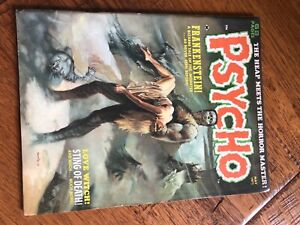 Psycho Vol. 1 May 1971 Skywald Horror Comic Magazine