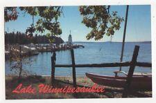 Lake Winnipesaukee Lighthouse New Hampshire Old Postcard USA 404a ^