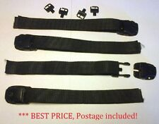 4 x Lock Down Spa Cover Clips with Straps and S/S screws free post