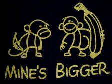 Vintage 90's Mine's Bigger Monkey Banana T Shirt XL NWOT