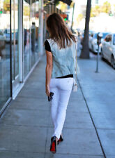 DL1961 $158 MILK WHITE EMMA 4 WAY STRETCH SKINNY LEGGING JEAN  26