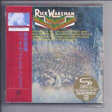 RICK WAKEMAN Journey To The Centre Of The Earth JAPAN mini lp cd +dvd deluxe SHM