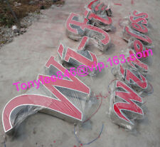 24'' Channel Letters, 3D outdoor Signs,Power & Installation Template include