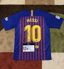 Leo Messi Signed Barcelona Jersey