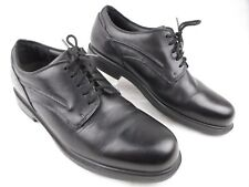 Dunham MCT410 Men's Black Leather Waterproof Oxfords Work Shoes Size 11 $154