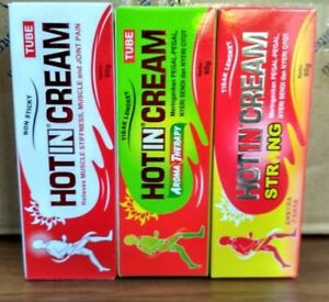 HOT-IN CREAM - 1 Tubes (60g) Helps to Overcome tiredness, muscle aches and pains
