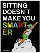 "Hebru Brantley LilMama Poster 18"" x 24"" Matte Finish RARE PRINT FIND (NEVERMORE)"