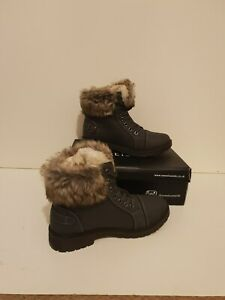SweetSuede Ladies Ankle Fur Boots