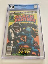Black Panther #5 CGC 9.8 1977 Jack Kirby
