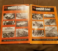 Unique cars magazine used cars for the enthusiast 1986 September and May