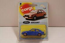 """Corgi Junior No: E105 """"Ford Escort"""" - Blue (Original 1983/UNOPENED)"""