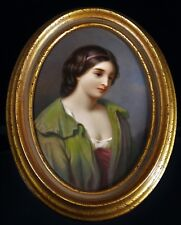 KPM Berlin Porcelain Plaque of a Young Girl