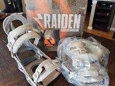 Snowboard bindings RAIDEN ERIS Medium women's platinum color