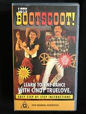 LETS BOOTSCOOT! LEARN TO LINE DANCE ~ LINE DANCING ~ RARE VHS VIDEO