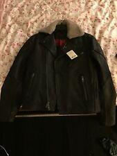 rag & bone classic leather vincent jacket size 38 men