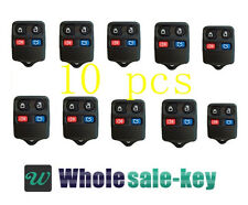 10 - New 4 Button Keyless Entry Remote Key Fob Clicker for Ford Lincoln Mercury