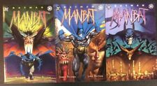 BATMAN #1 - 3 MAN-BAT Comic Books FULL SERIES DELANO BOLTON 1995 FULLY PAINTED