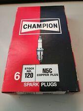 NEW 6-Pack Genuine Champion Copper Plus Spark Plug 120 N5C