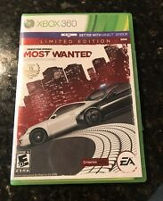 Need for Speed Most Wanted Limited Edition Complete Microsoft Xbox 360 EUC