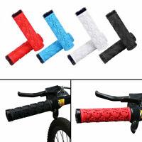 Bike Handle bar Grips locking BMX mountain bike bicycle handlebar grips rubber