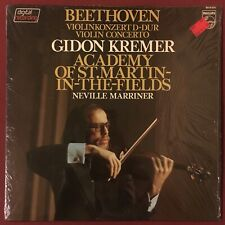 GIDON KREMER - BEETHOVEN Violin Concerto Marriner Philips Digital MINT IN SHRINK