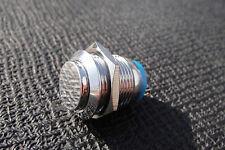 Momentary OFF-(ON) 3v-12v-120v  Push Switch Stainless Steel Metal Horn 16mm
