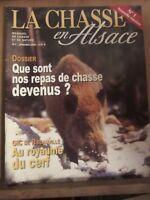 La Chasse en Alsace, magazine de chasse et de nature N°1 janvier 2002