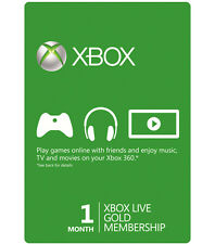 Xbox Live Gold 1 Month Membership Code (U.S.) (READ THE DESCRIPTION)