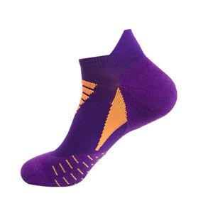 Men Professional Sports Socks Breathable Absorbs Sweat Running Short Ankle Sock