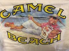 "Vintage CAMEL 1991 Made in USA ""Joe Camel"" Beach White pocket T-Shirt XL ""NEW"""