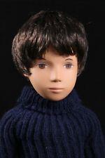 "Sasha 16"" Vintage Boy Doll GREGOR #301 in Dark Denims Trendon Toys England"