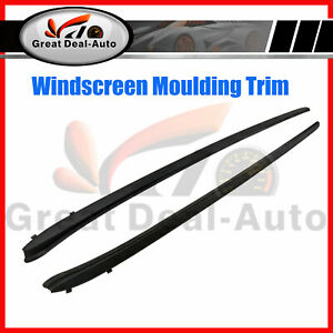 Pair Front Windscreen Side Reveal Trim for HOLDEN COMMODORE VE CALAIS SV6 SS