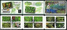 Carnet BC739 oblitéré 1er Jour 13.06.12 Des Légumes pour une Lettre Verte