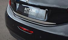 Chrome rear door handle tailgate BOOT TRIM STRISCIA COVER PER PEUGEOT 208 2012 +