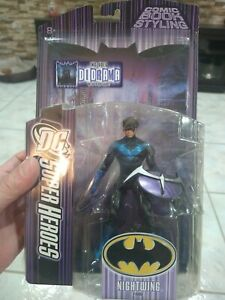 DC Super Heroes Nightwing S3 Select Sculpt Universe Batman Robin Red Hood Titans