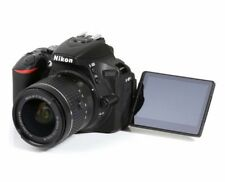 Nikon D5600 24.0MP DSLR Camera + 18-55mm lens + Case *only 497 on screen count*