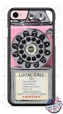 Vintage Retro Pink Pay Phone Design Phone Case for iPhone Samsung LG Google etc