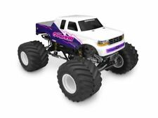 J Concepts - 1993 Ford F-250 Super Cab Monster Truck Clear Body w/Racerback