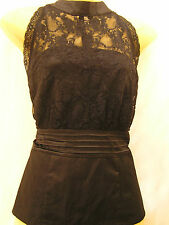 NEW lace collared top Size XS NWT