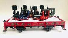 LGB 42100 1997 Christmas Transport Gondola Load of 4 Gnomy Engines