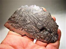 Niedrig Preis! Sensationelle Scheibe! Muonionalusta Swedish Eisen Meteorit 97.8