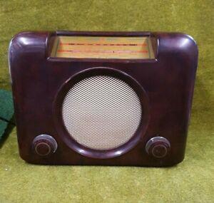 Vintage Bush Dac 90 A Valve Radio Works but low volume