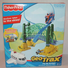 NEW Fisher Price GeoTrax Fly-By Bridge w/ GeoAir Expansion Track