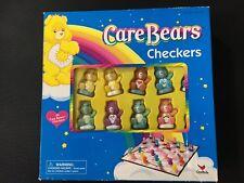 Care Bears Checkers Game 2004 Board Carebears COMPLETE EUC